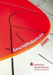 Jahresbericht 2009 zum Herunterladen (2,6 MB) - Sparkasse Aurich ...