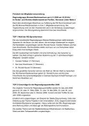 Protokoll MV HB/N vom 4.11.2005 - SRL