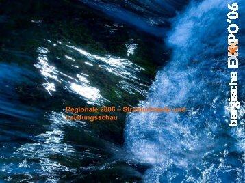 Regionale 2006 – Strukturimpuls und Leistungsschau - SRL