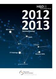 IT-SeminarkatalogIT-Seminarkatalog 2012/2013 PDF | 2000 KB
