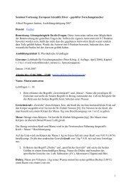 1 Seminar/Vorlesung: European Scientific Diver - geprüfter ... - AWI
