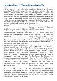 Saison 2012/2013 Ausgabe 2 vom 30.09.2012 - TSV Steinhaldenfeld
