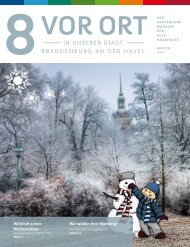 Winter 2011 - Verkehrsbetriebe Brandenburg GmbH