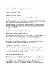 LBS Rheinland-Pfalz Newsletter August 2010 vom 18.08.