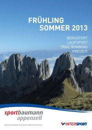 PDF-Katalog - Sport Baumann in Appenzell