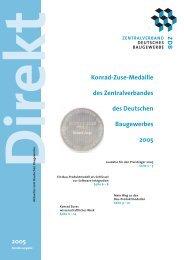 ZDB direkt Zuse 2005.pdf - Zentralverband Deutsches Baugewerbe