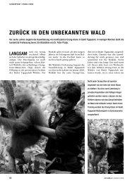 Artikel über die Auswilderung der Sumatra Orang-Utans aus dem ...