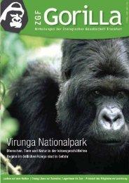 ZGF Gorilla | Dezember 2006 - Zoologische Gesellschaft Frankfurt
