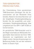 Anleitung für den TAN-Generator - Cortal Consors - Seite 6