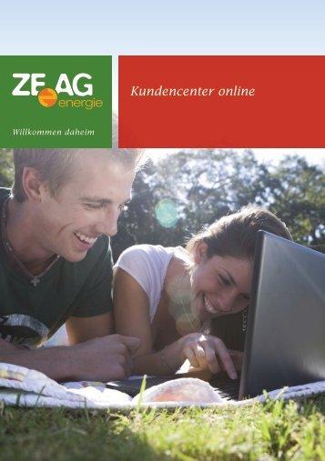 Kundencenter online - ZEAG Energie AG