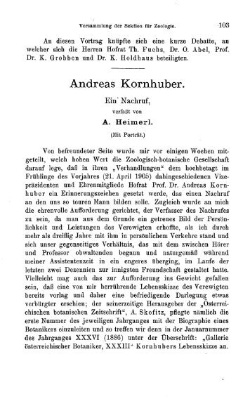 Andreas Kornhuber.