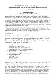 Die Südafrikanische Gesellschaft für Kulturgeschichte