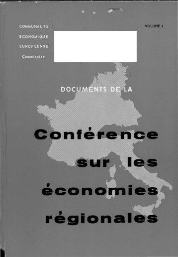 ' économies régionales