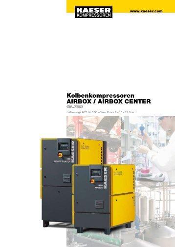 Kolbenkompressoren AIRBOX / AIRBOX CENTER - SEITZ ...