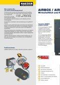 Kolbenkompressoren AIRBOX / AIRBOX CENTER - SEITZ ... - Seite 2