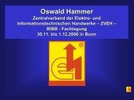 Neue Ausbildungsberufe im ET und EMA Handwerk - BiBB