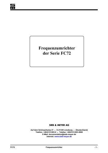Emotron FDU 2.0 Frequenzumrichter