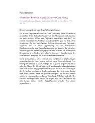 «Pharisäer». Komödie in drei Akten von Klara Viebig