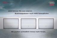 Das neue Audi A4 Businesspaket