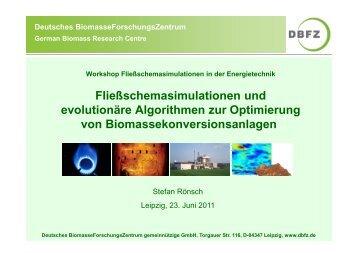 Fließschemasimulationen und evolutionäre Algorithmen zur ...
