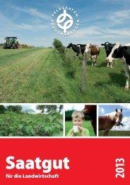für die Landwirtschaft - Feldsaaten Freudenberger GmbH & Co. KG
