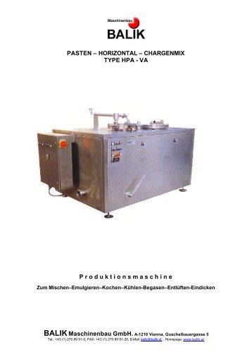 Prospektblatt im PDF-Format - BALIK Anlagentechnik GmbH