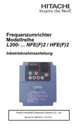 NFE(F)2 / HFE(F) - Hitachi Drives & Automation