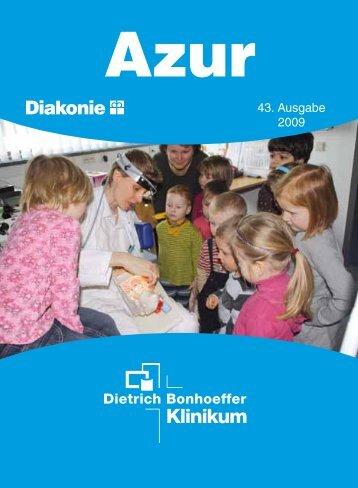 KLINIKEN UND INSTITUTE - Dietrich Bonhoeffer Klinikum ...