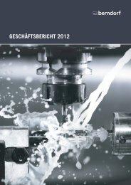 Bericht 2012 als PDF - Berndorf AG