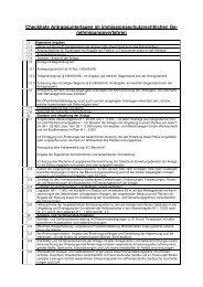 Checkliste Antragsunterlagen - Landkreis Wunsiedel im Fichtelgebirge