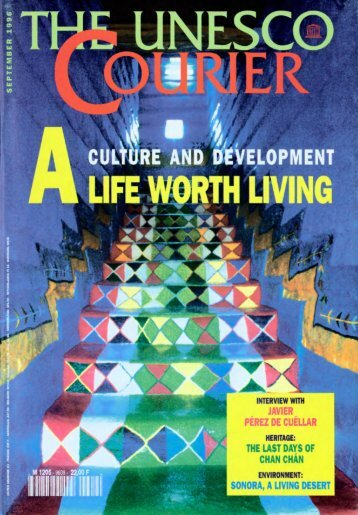 The UNESCO courier: a window open on the world; Vol.:49, 9; 1996