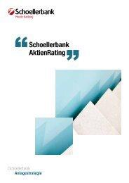 Schoellerbank AktienRating (ausführliche ... - Schoellerbank AG