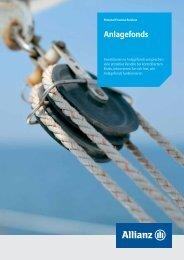 wie die Anlagefonds funktionieren - Allianz Suisse