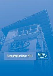 Geschäftsbericht 2011 - VPV