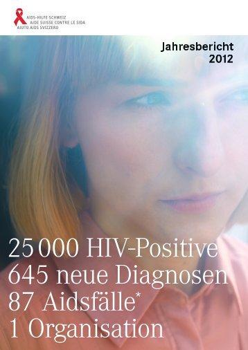 Jahresbericht 2012 - Aids-Hilfe Schweiz