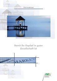 FondsInvest_d f i.indd - Pax Schweizerische Lebensversicherungs ...