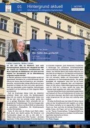 Hintergrund aktuell 01 - HOPPE VermögensBetreuung GmbH & Co ...