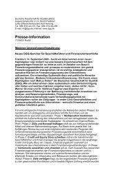 Presse-Information - DGQ