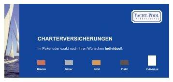 Informationsbroschüre zu den Paketversicherungen - Yacht Pool