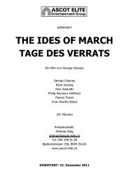 Presseheft The Ides Of March