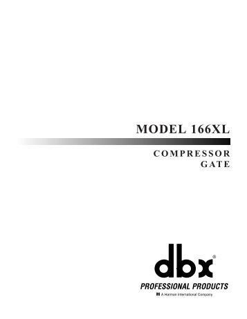 MODEL 166XL - Av.loyola.com