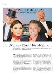 """Ein """"Weißes Rössl"""" für Mörbisch - KSV"""
