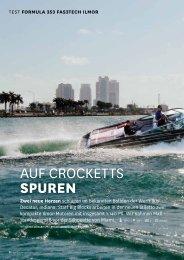 Auf CroCketts Spuren - Formula Boats