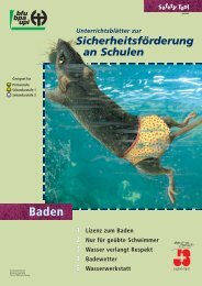 Safety Tool Baden (Unterrichtsmaterial) - BfU