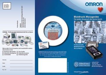 Blutdruck-Messgeräte - DiaShop.de