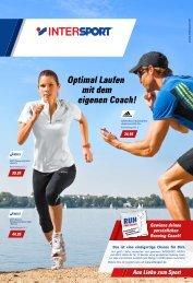 Optimal Laufen mit dem eigenen Coach! - Intersport GROSSE