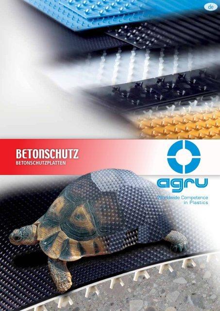 BETONSCHUTZ - AGRU Kunststofftechnik