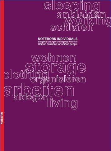 NOTEBORN - Schrank Design Steiner