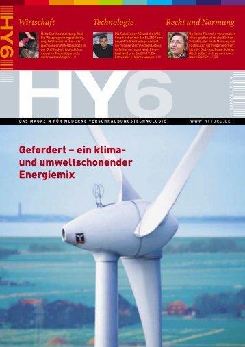 Gefordert – ein klima- und umweltschonender Energiemix