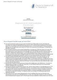 Diagnostik akuter zerebrovaskulärer Erkrankungen - AWMF